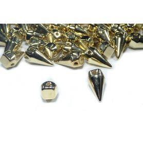 Tüske, felvarrható szegecs -Arany -7mm
