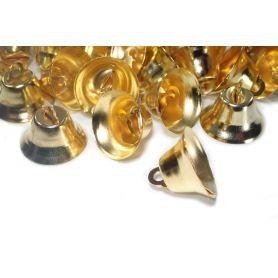 Csengettyű, kisharang -Arany- 21mm