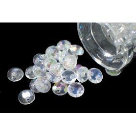 Műanyag kristály utánzat Irizáló -5mm
