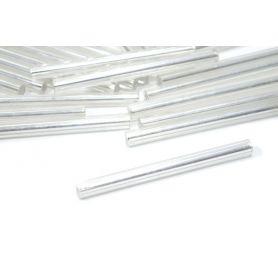 Üveg szalmagyöngy Ø2.5mm