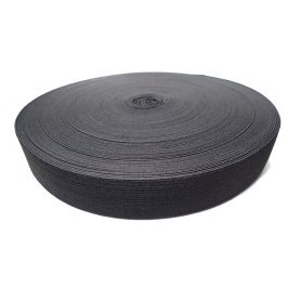 Gumi szalag -fekete- 30mm