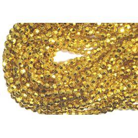 Fűzött gyöngy -Szögletes- 5mm