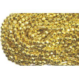 Fűzött gyöngy -Szögletes- 6mm