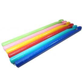 Nagyméretű műanyag horgolótűk 9es