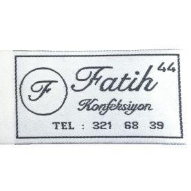 Felvarrharó folt, cimke -Faith- 40mm