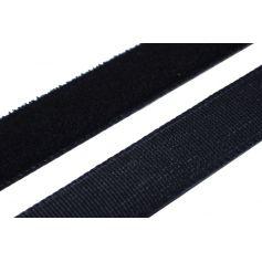 Bársony szalag -Fekete-19mm (20m)
