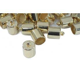Zsinórvég -ezüst-arany- Ø 8mm