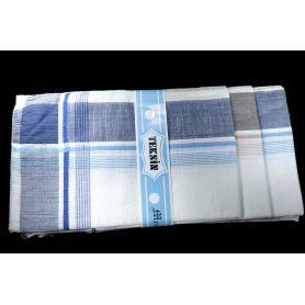 Textil zsebkendők 36x36 -Világos kockás-