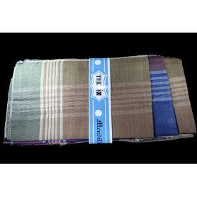 Textil zsebkendők 36x36 -Sötét kockás-