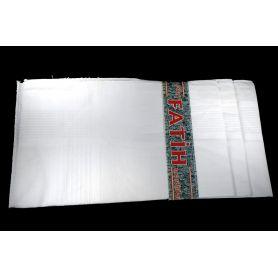 Férfi, textil zsebkendők  -Fehér-