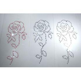 Felvasalható motívum -Rózsa- 8x15cm