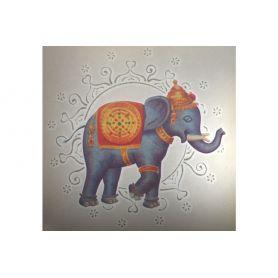Felvasalható motívum -Elefánt- 20 x 20cm