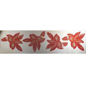 Felvasalható motívum -Virág- 8 x 8cm