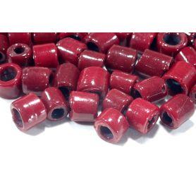 Színes kerámia cső gyöngy -kb8mm