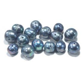 Tenyésztett gyöngy -Sötét- 8-10mm