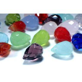 Csepp alakú üveg gyöngy -8x12mm