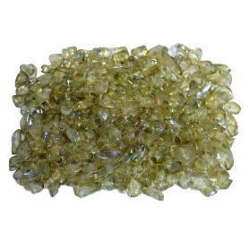 Ásvány jellegű gyöngy -Irizáló-kb55g