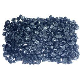 Ásvány gyöngy -Fekete-kb55g