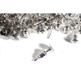 Fülbevaló alap - szerelő pálca -