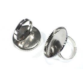 Gyűrű alap Ø25mm foglalat