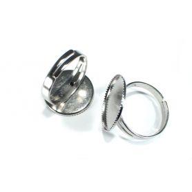 Gyűrű alap Ø18mm foglalat