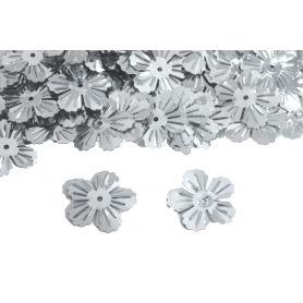 Virág alakú flitter 18mm- 25g