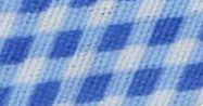 Pamut ferde kockás - világos kék