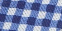 Pamut ferde kockás - sötét kék